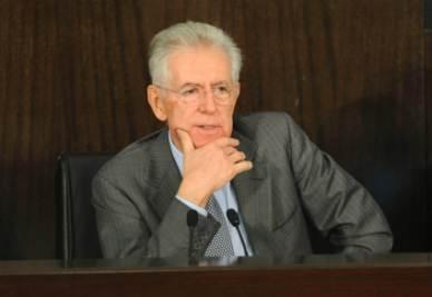 Mario Monti (Foto Imagoeconomica)