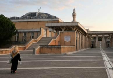 La moschea di Roma (Foto Imagoeconomica)