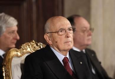 Il presidente della Repubblica, Giorgio Napolitano (Imagoeconomica)