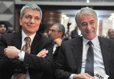 Giuliano Pisapia e Nichi Vendola (Imagoeconomica)
