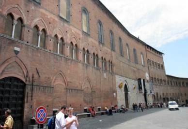Il complesso museale di Santa Maria della Scala a Siena (Foto Imagoeconomica)