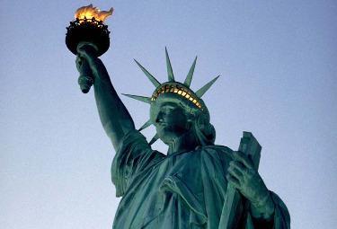 La statua della libertà (Foto Imagoeconomica)