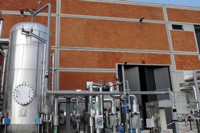 Una centrale di teleriscaldamento di Milano (Foto Imagoeconomica)