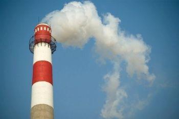 Emissioni di anidride carbonica nell'atmosfera