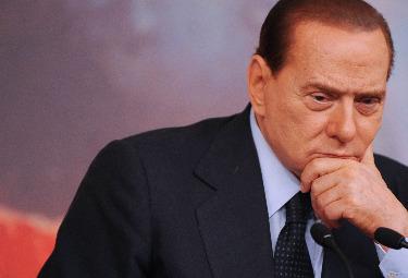Un pensieroso Silvio Berlusconi (Foto Imagoeconomica)