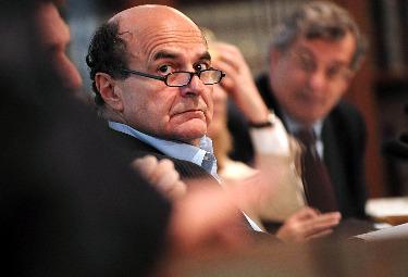 Pier Luigi Bersani (Imagoeconomica)