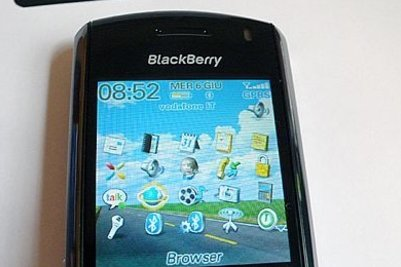 Il BlackBerry 8100