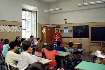 Dominika si è suicidata in una scuola di Roma (Imagoeconomica)
