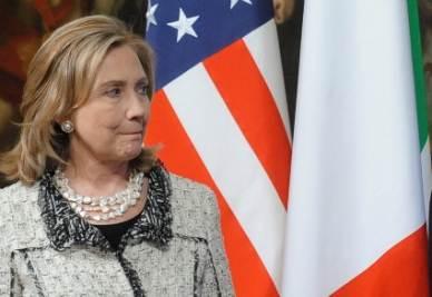 Il Segretario di Stato Usa Hillary Clinton (Imagoeconomica)