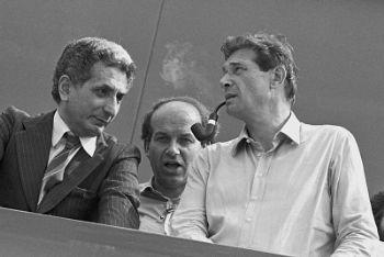 1983: Diego Novelli, Fausto Bertinotti, Luciano Lama (Imagoeconomica)