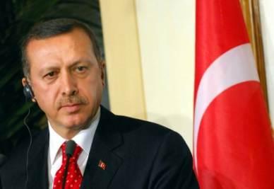 Il primo ministro turco Erdogan (Imagoeconomica)