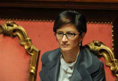 Il ministro dell'Istruzione Mariastella Gelmini (Imagoeconomica)