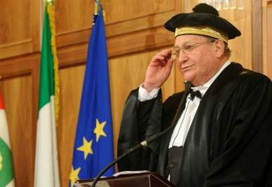 Luigi Giampaolino, presidente della Corte dei Conti (Imagoeconomica)