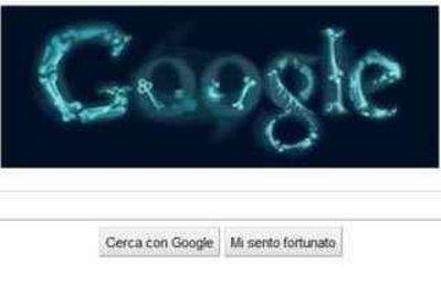 Il logo di Google dedicato all'anniversario della scoperta dei raggi X