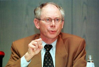 Herman Van Rompuy, presidente permanente dell'UE