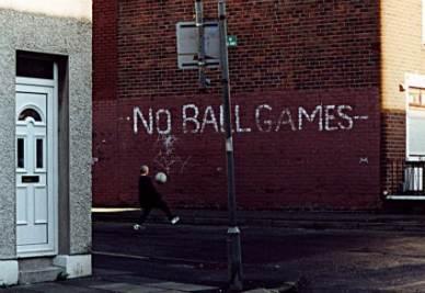 Un angolo di Belfast, in Irlanda (Imagoeconomica)