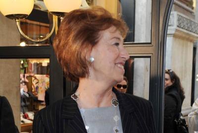La scheda di Letizia Moratti (Imagoeconomica)