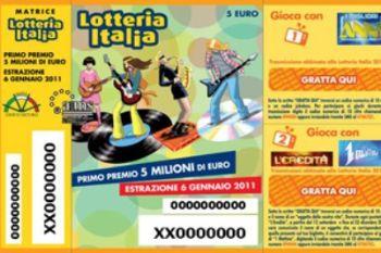 Lotteria Italia 2012: l'estrazione dei biglietti vincenti di prima e seconda categoria
