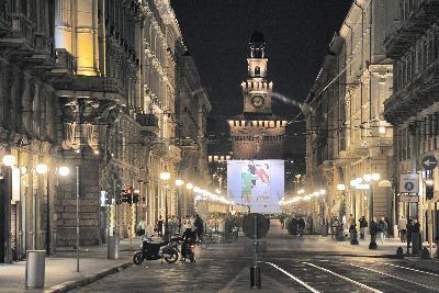 Milano, il Castello Sforzesco (Imagoeconomica)