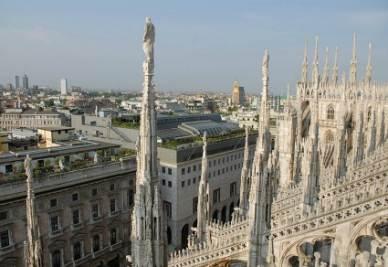 Il duomo di Milano (Imagoeconomica)