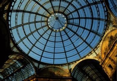 La Galleria Vittorio Emanuele II a Milano (Imagoeconomica)
