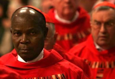 Il cardinale Okogie (Imagoeconomica)