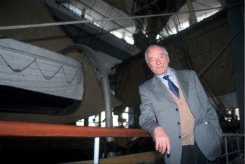 Piero Angela conduce Superquark (Foto Imagoeconomica)