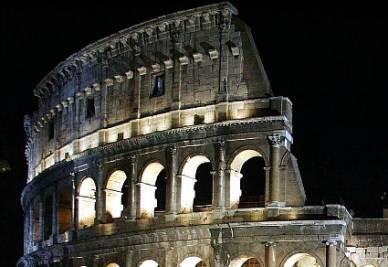 Notte sulle ambizioni di Roma (Imagoeconomica)