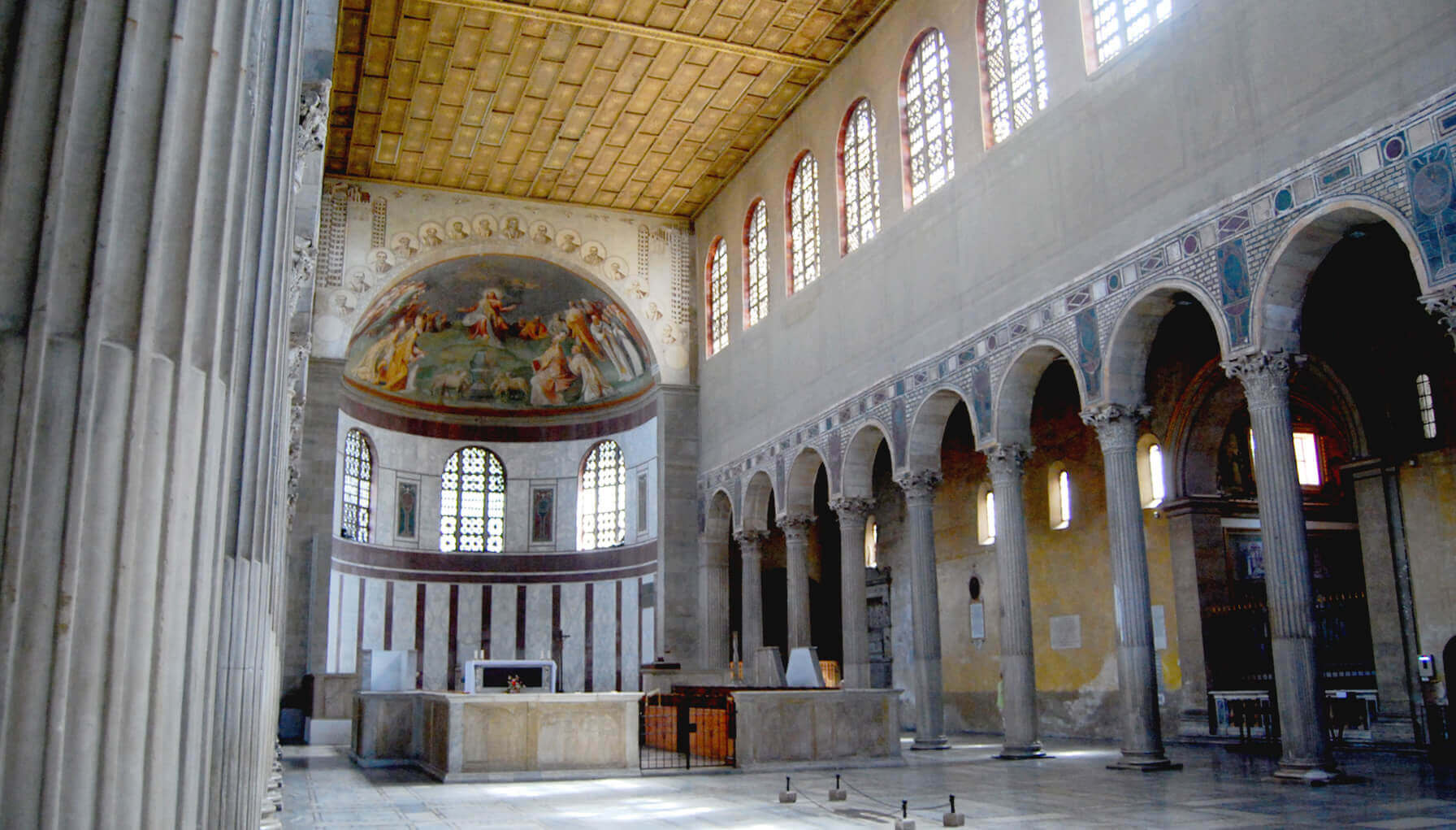 CHIESE DI ROMA/ Grazia e Battesimo, la Quaresima di papa Benedetto comincia a Santa Sabina