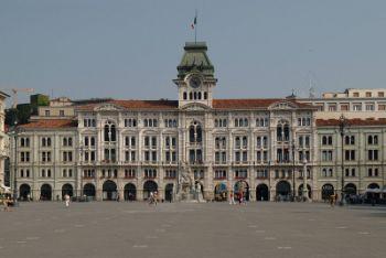 Trieste, Piazza dell'Unità d'Italia (Imagoeconomica)