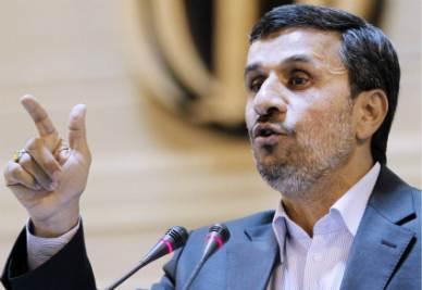 Mahmud Ahmadinejad, Presidente dell'Iran (Infophoto)