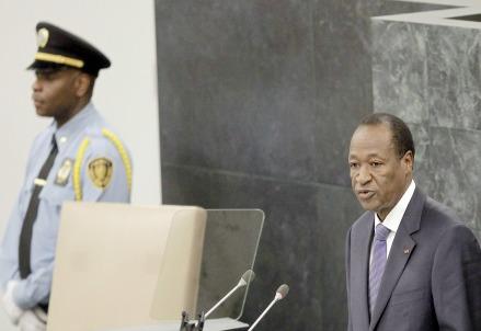 Blaise Compaoré (Infophoto)