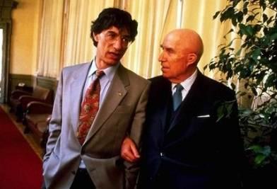 Bossi e Miglio (Infophoto)