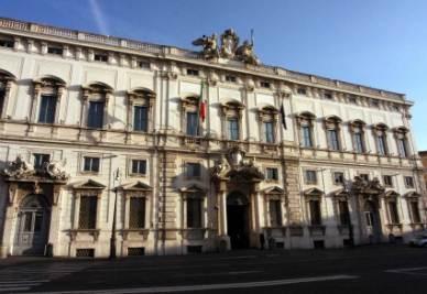 La sede della Corte Costituzionale (Infophoto)