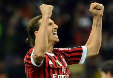 Zlatan Ibrahimovic (Milan)