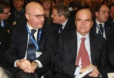 Latorre e Bersani (Infophoto)