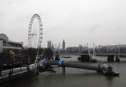 Una foto di Londra (Infophoto)