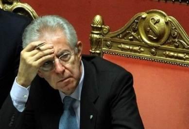 Il senatore a vita Mario Monti, foto Infophoto