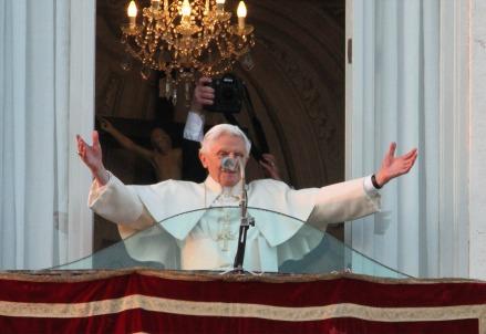 Papa Bendetto XVI, l'ultimo saluto a Castael Gandolfo (Infophoto)