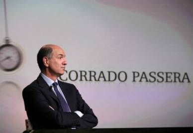 Corrado Passera (Infophoto)
