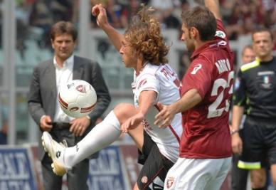 Paulinho, attaccante del Livorno (Infophoto)
