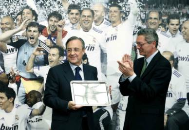Florentino Perez, Presidente del Real Madrid (Infophoto)