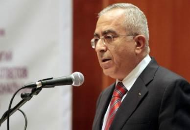 Il ministro palestinese Salam Fayyad (Foto: Infophoto)