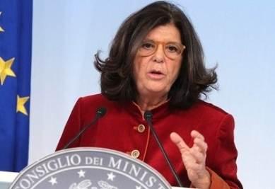 Il ministro della Giustizia, Paola Severino (InfoPhoto)