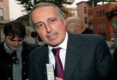 Giancarlo Abete, presidente Figc (Infophoto)