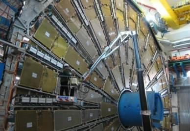 Un acceleratore di particelle (Foto: Infophoto)