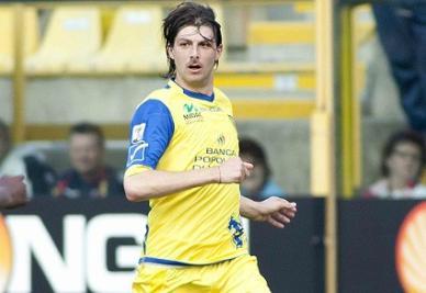 Francesco Acerbi, 23 anni, difensore del Chievo (Infophoto)
