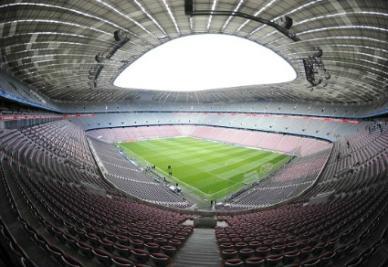 L'Allianz Arena (Foto: Infophoto)