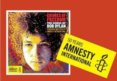 BOB DYLAN/ Chimes of Freedom, il tributo di Amnesty a Mr. Tambourine Man