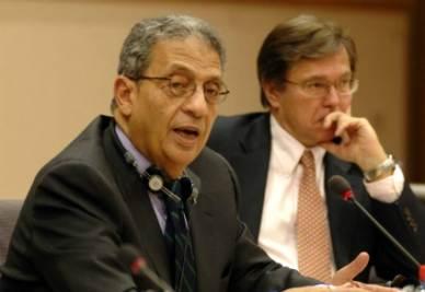 Amr Moussa, candidato alla presidenza